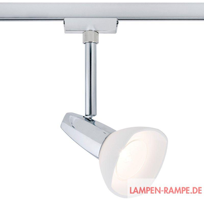 Paulmann urail spot barelli 40w gz10 chrom inkl for Lampen rampe