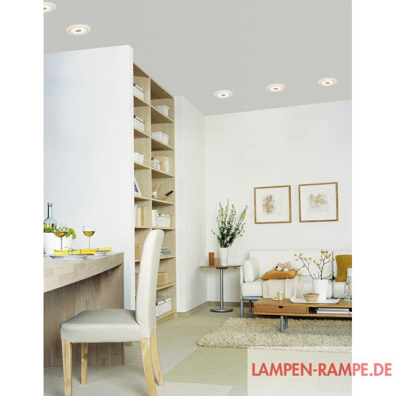paulmann einbauleuchten set premium line whirl rund led set. Black Bedroom Furniture Sets. Home Design Ideas
