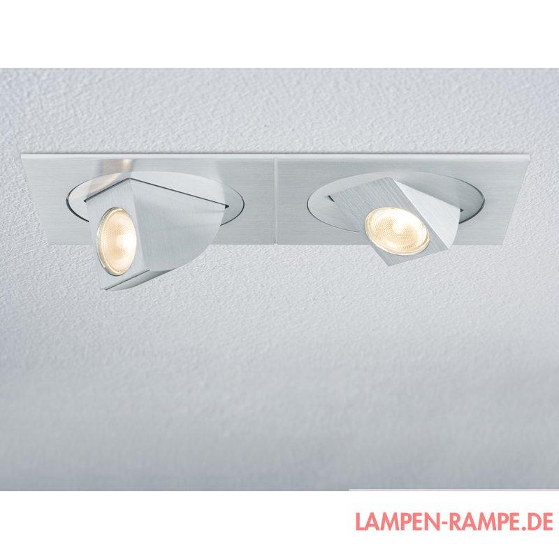 paulmann premium line xara led set 2x5w schwenkbar. Black Bedroom Furniture Sets. Home Design Ideas