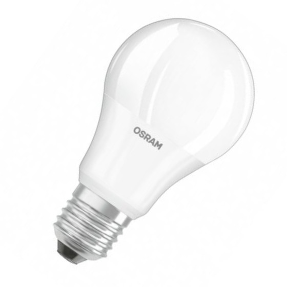 Osram LED Value Classic A40 Lampe E27 Leuchtmittel 5,5W=40W Warmweiß matt