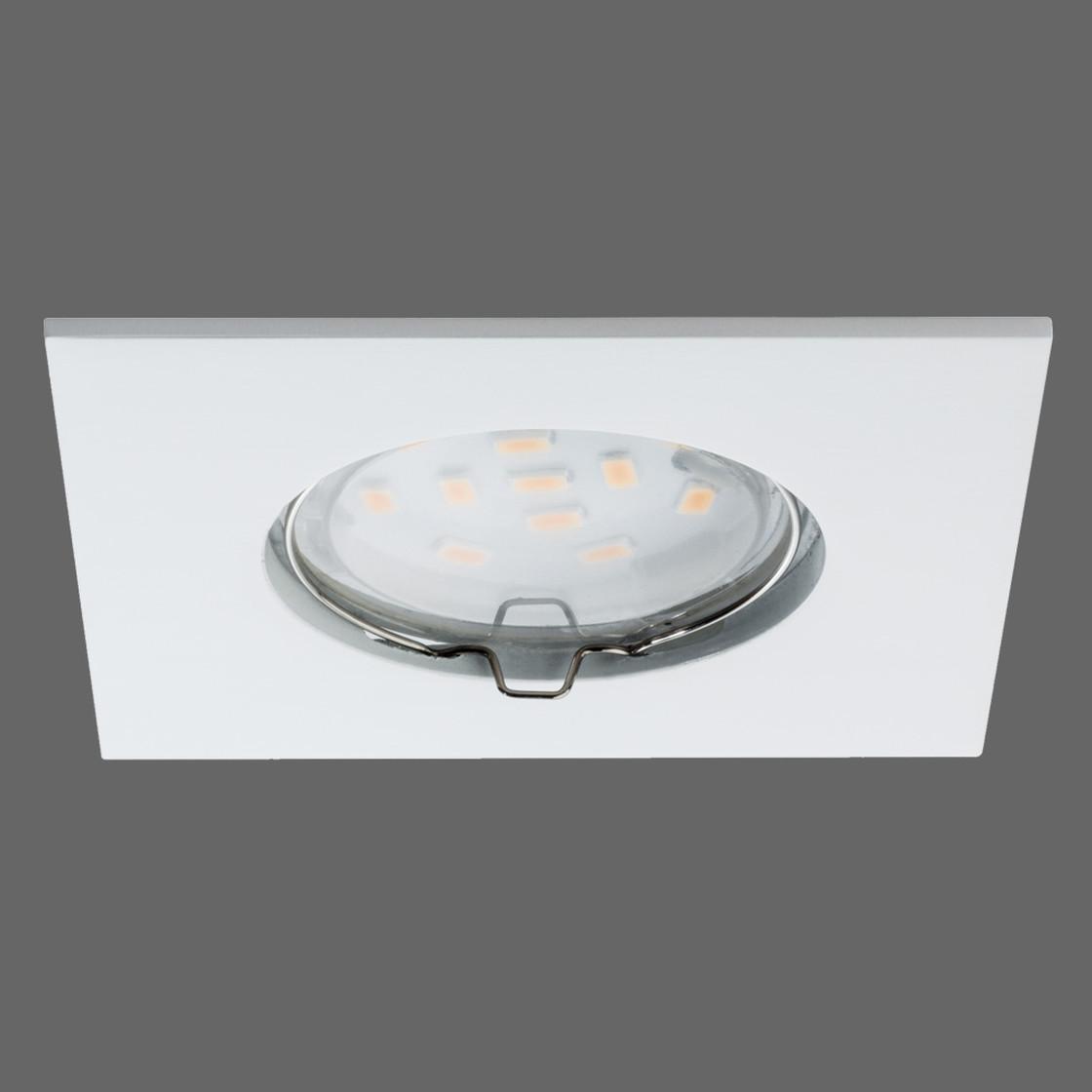 paulmann premium line coin led set 3x6 8w weiss matt inkl leu 62 01. Black Bedroom Furniture Sets. Home Design Ideas