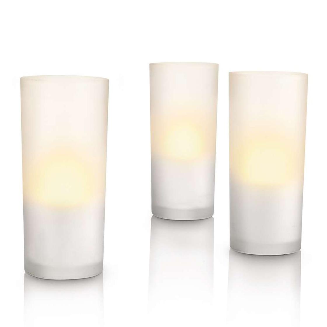 philips led kerzen 3er set glas 125 mm h he f r au. Black Bedroom Furniture Sets. Home Design Ideas