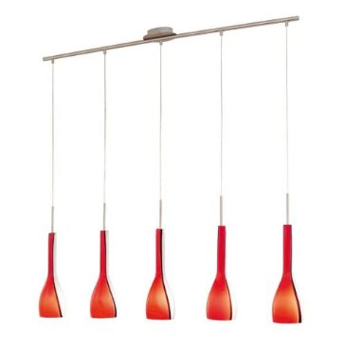 eglo 87673 design pendelleuchte io rot 1 10 meter inkl leuchtmitt. Black Bedroom Furniture Sets. Home Design Ideas