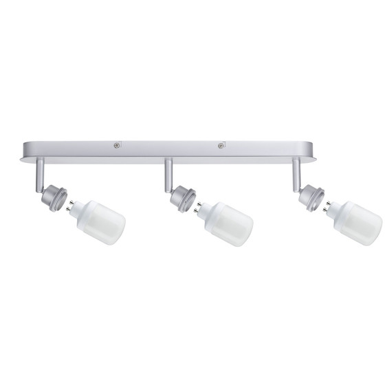 601.18 paulmann quadled spotlight projecteur 3 w alu wandstrahler 230v 60118