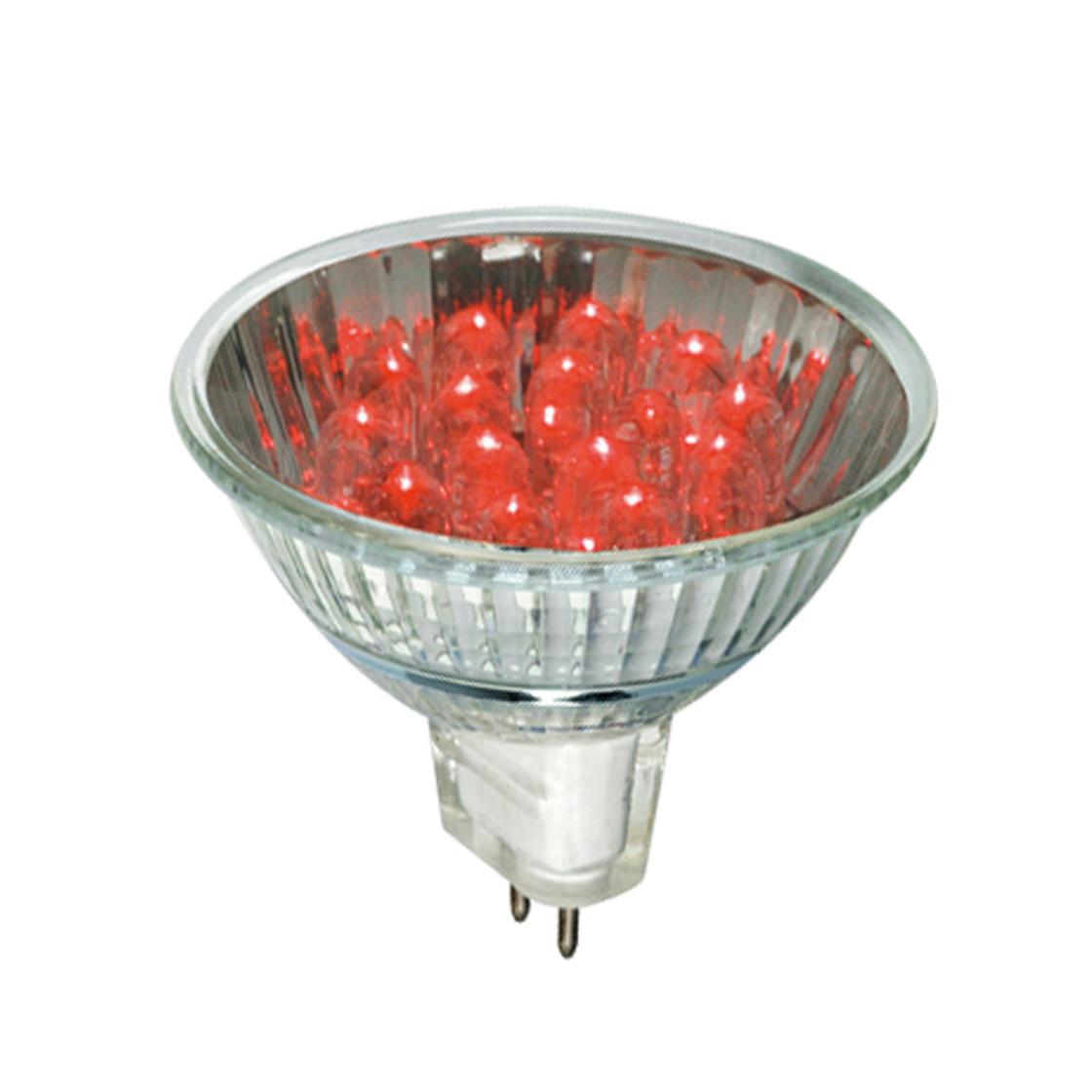 m ller licht 24563 led reflektor 1w gu5 3 rot 0 99 lam. Black Bedroom Furniture Sets. Home Design Ideas