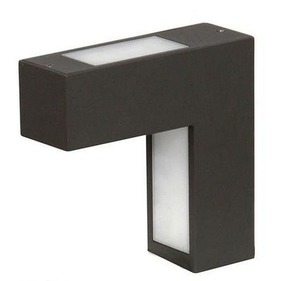 ranex porto 4 w led wandleuchte schwarz ip54 lampen rampe 9 99. Black Bedroom Furniture Sets. Home Design Ideas