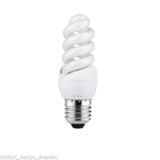 Nice Price 3378 Energiesparlampe Spirale 1x7 W Warmweiss E27 230V
