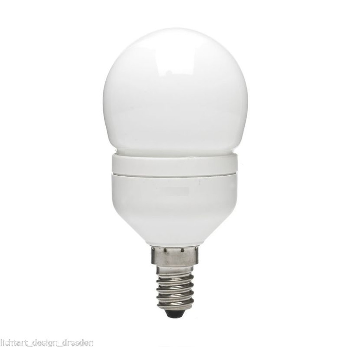 GE Lighting 45848 Leuchtmittel Energiesparlampe 8W Warmweiß E14 ESL