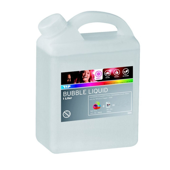 TIP 3866 Party Bubble Liquid 1 Liter für Paulmann Bubble Maschine