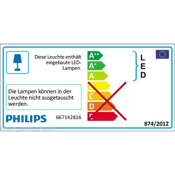 My Home Office Philips 667142816 Play LED Tischlampe Pink 1x2,5W IP20 Warmweiß