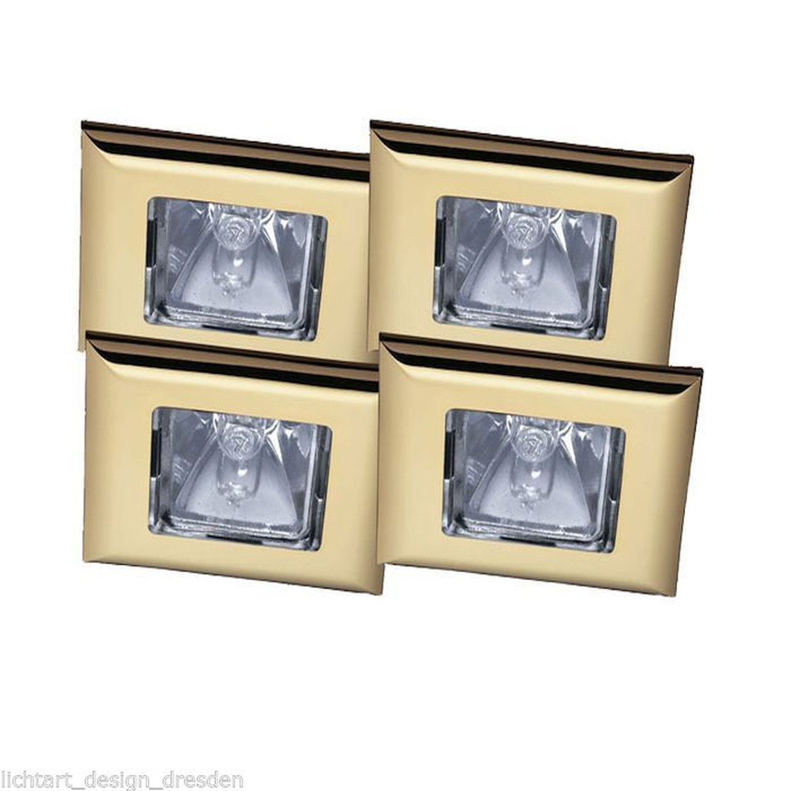 paulmann quadro premium line einbauleuchten set 4 x35w gu5 3 g 29 50. Black Bedroom Furniture Sets. Home Design Ideas