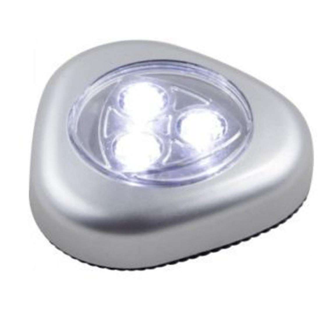 3er set globo lighting 31909 led flashlight pushlight silber 3 x0 2 4 99. Black Bedroom Furniture Sets. Home Design Ideas