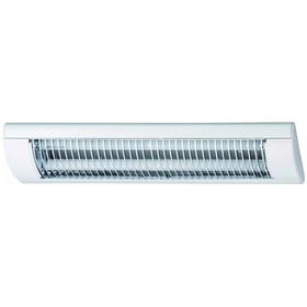 Briloner 6402-186 Unterbauleuchte Energiesparlampe 2x18W T8 Weiss Kaltweiß IP20