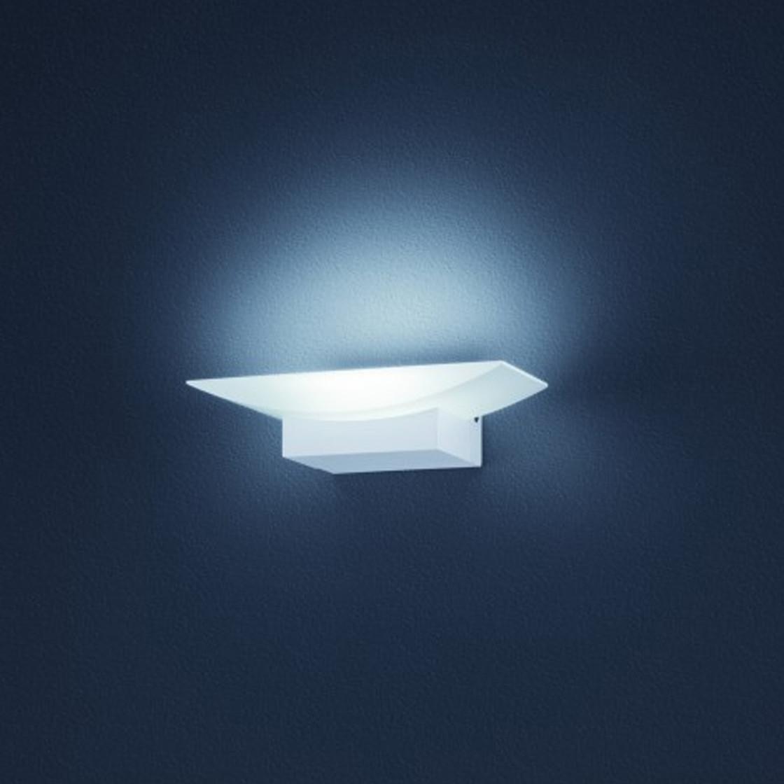 helestra ella 44 wandleuchte led 9w wei inkl leuchtmittel 74 99. Black Bedroom Furniture Sets. Home Design Ideas