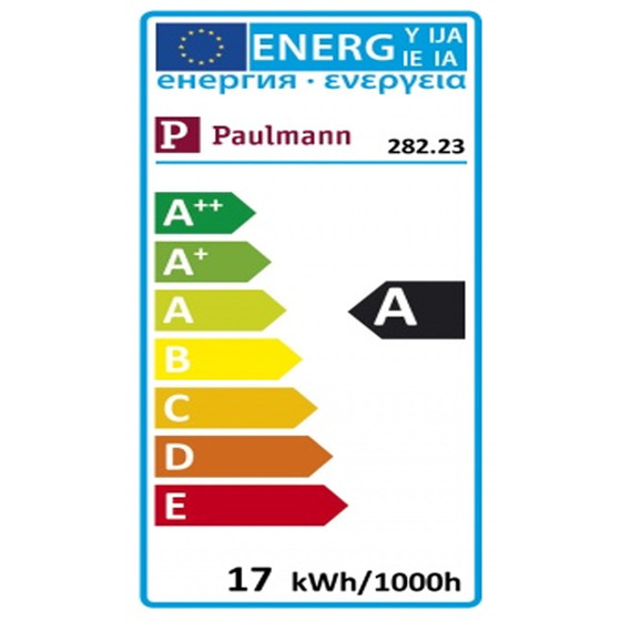 Paulmann 282.23 LED AGL 17 W E27 Warmweiß dimmbar