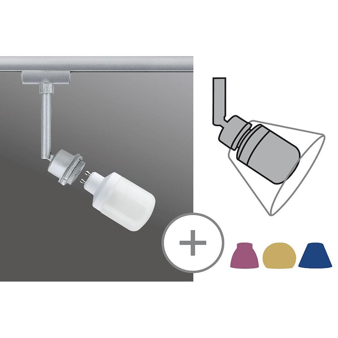 paulmann urail system deco spot 9w gu10 chrom matt inkl ener. Black Bedroom Furniture Sets. Home Design Ideas