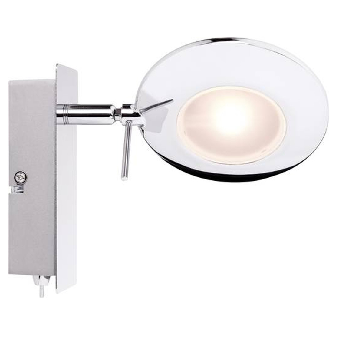 Paulmann orb strahler led 2x3w weiss inkl for Lampen rampe