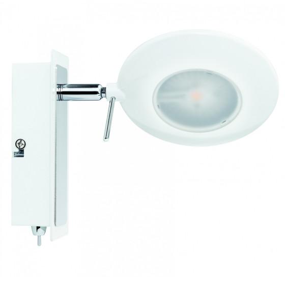 paulmann orb strahler led 1x3w schwarz chrom inkl leuchtmittel lampen rampe de 29 99. Black Bedroom Furniture Sets. Home Design Ideas