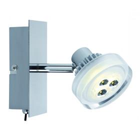 strahler und spots nickel geb rstet lampen rampe de. Black Bedroom Furniture Sets. Home Design Ideas