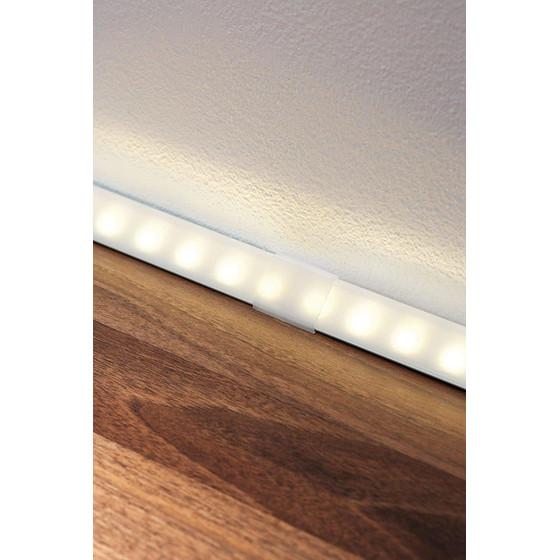 4er set paulmann delta profil corner eckprofil led leiste stri 4 99. Black Bedroom Furniture Sets. Home Design Ideas