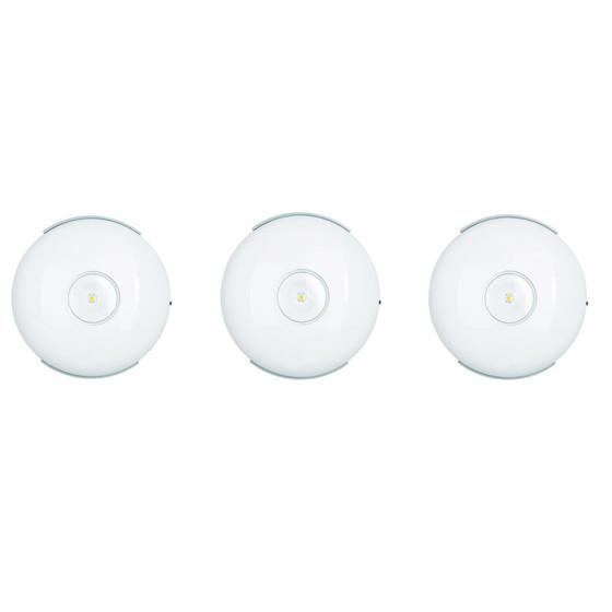 LT89337 Light Topps LED Unterbaustrahler Aufbauleuchte Triangle 3x2W Eisen geb.