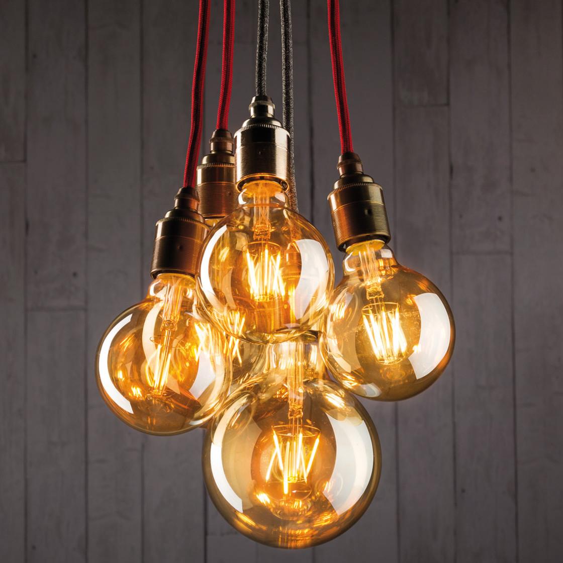 paulmann led filament vintage globe125 retrolampe 4w e27 gold 14 99. Black Bedroom Furniture Sets. Home Design Ideas