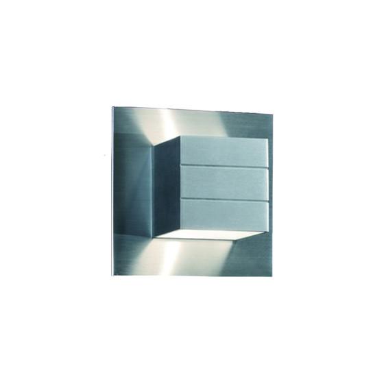 Helestra 18//982.26 Wandleuchte LIVA Aluminium matt G9 exkl Leuchtmittel 230V