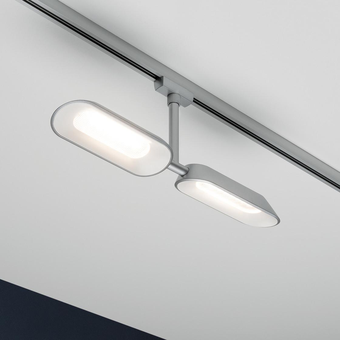 paulmann urail led spot dipper 2x8w chrom matt wei dimm. Black Bedroom Furniture Sets. Home Design Ideas