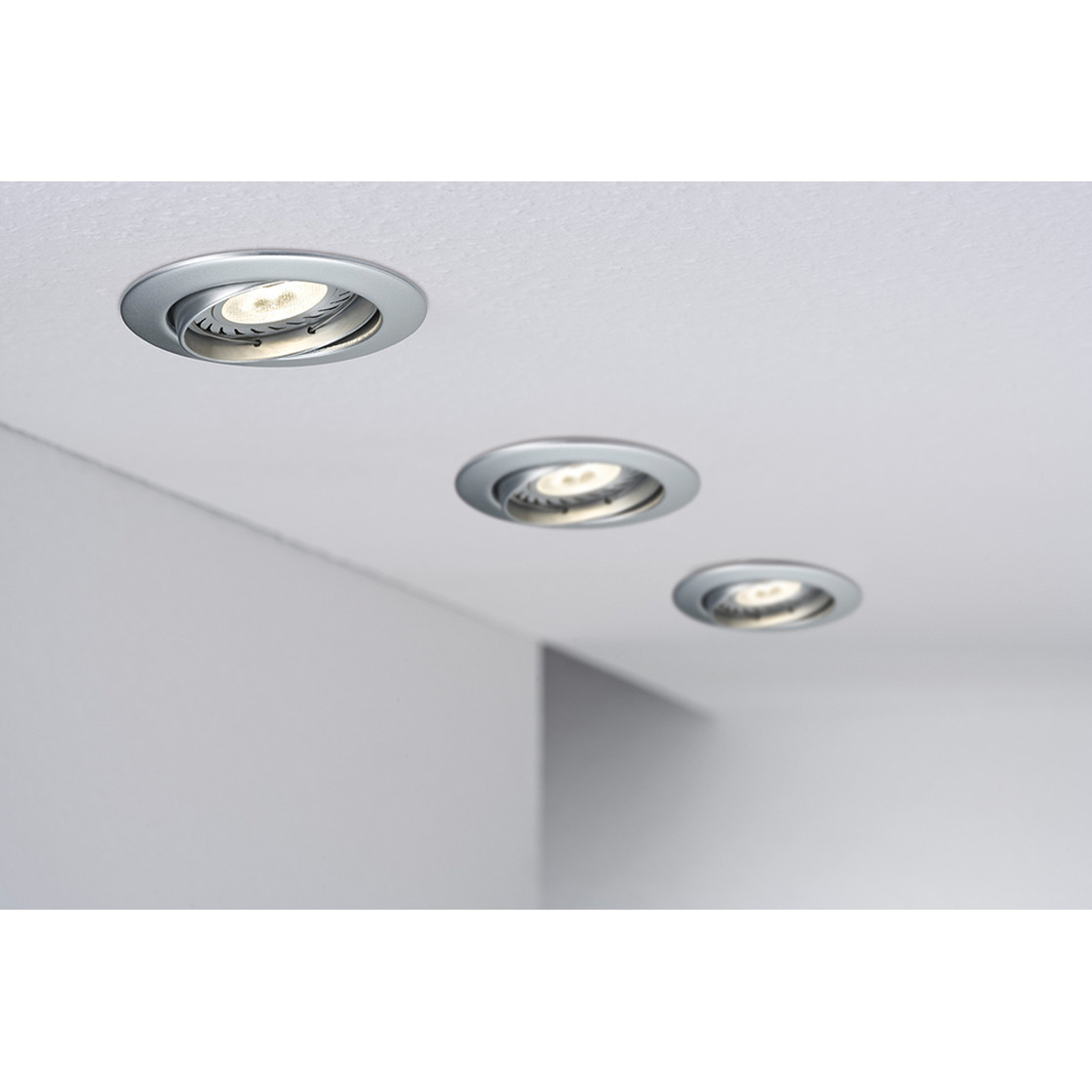 paulmann power led reflektor 1w gu10 tageslicht 38grad ausstra. Black Bedroom Furniture Sets. Home Design Ideas