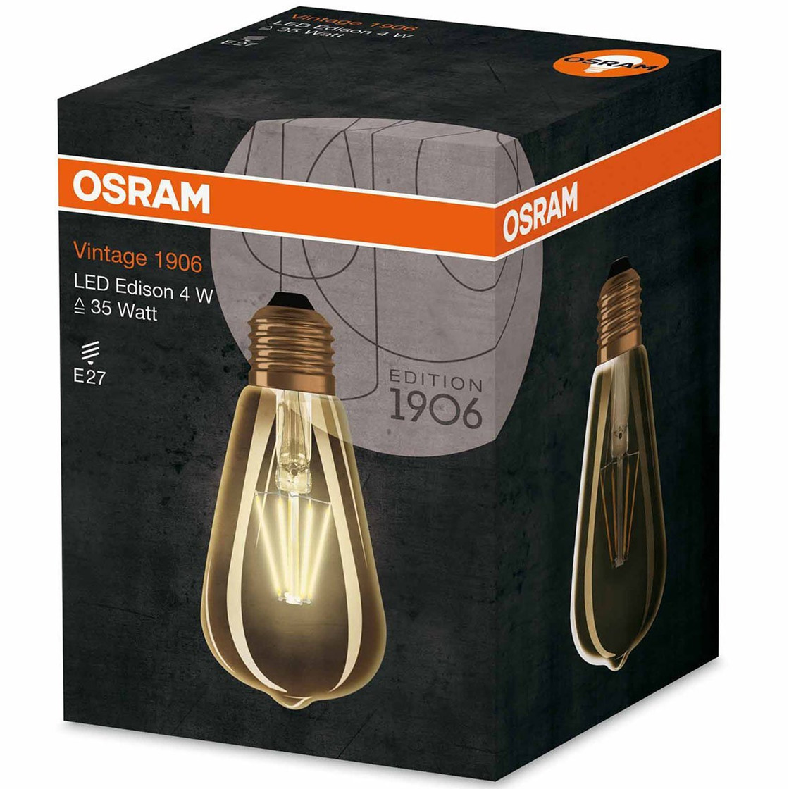 osram led agl edison vintage 1906 dimmbar e27 6 5w 51w gl hbirne wa 8 49. Black Bedroom Furniture Sets. Home Design Ideas