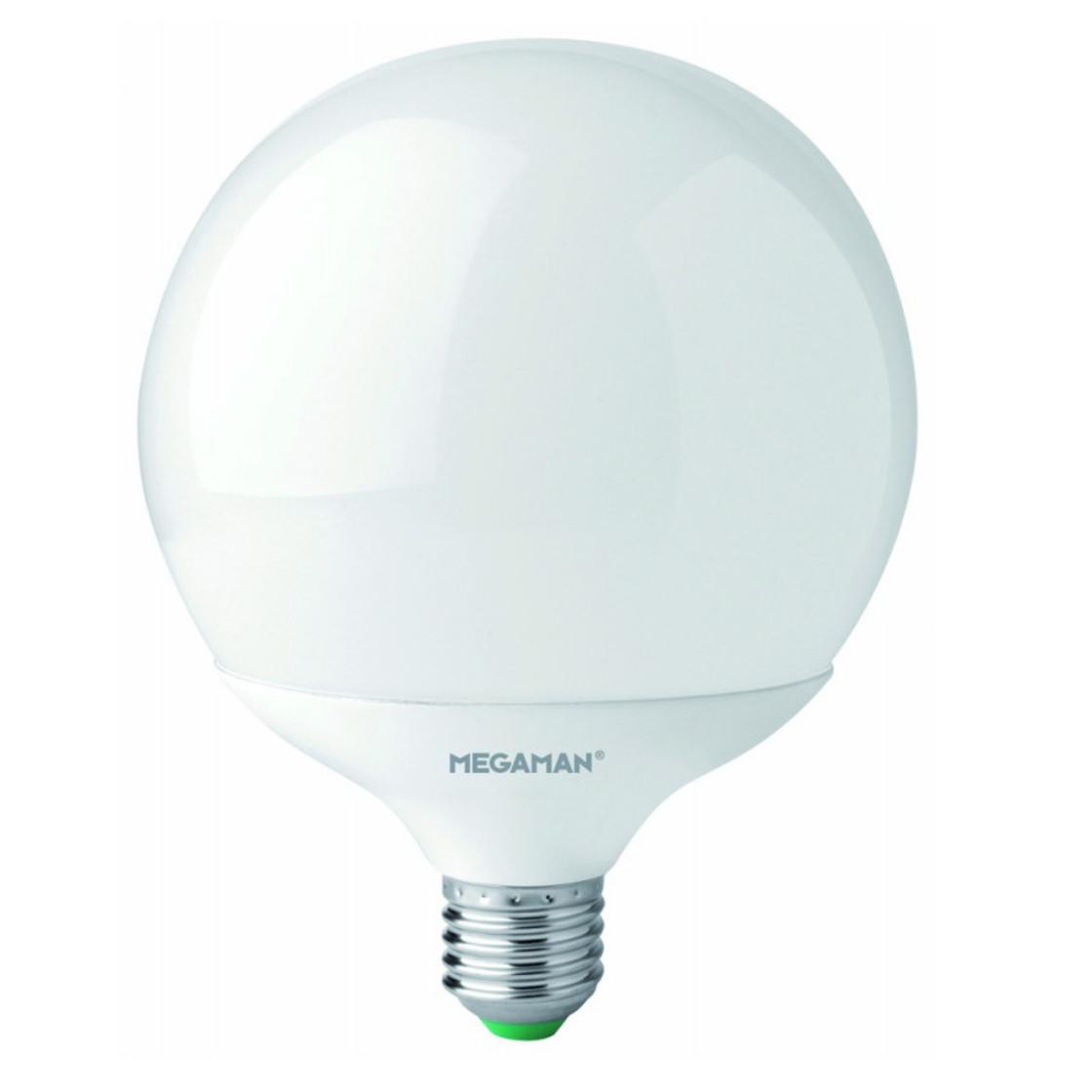 megaman mm21102 led globe gl hbirne lampe 230v e27 14w warmwei 1521l 10 99. Black Bedroom Furniture Sets. Home Design Ideas
