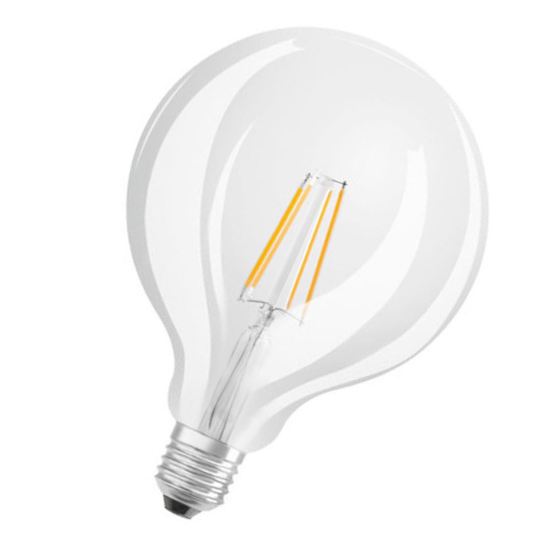 Osram LED-Lampe Retrofit Globe125 Filament E27 7W = 60W Glühlampe ...