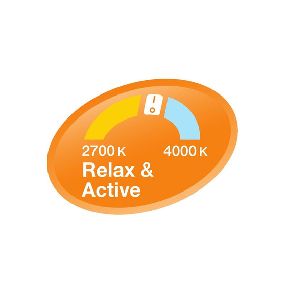 Osram LED A60 E27 9,5W Relax /& Aktive Lampe Warmweiß 2700K 806 lm wie 60W