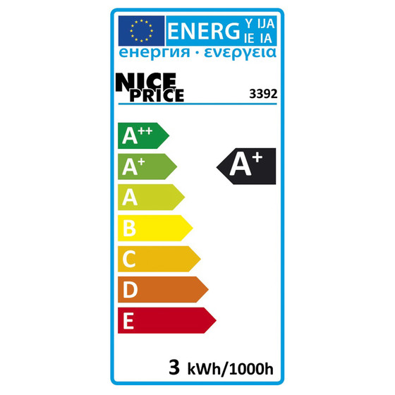 Nice Price 3392 LED Kerze 3W E14 warmweiß