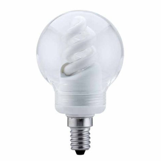 10 x Paulmann 880.62 Energiesparlampe Kerze 7W E14 warmweiß gold