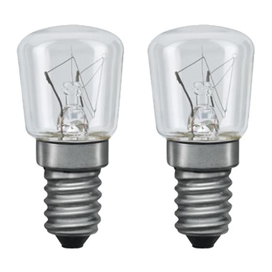 nice price 3256 gl hbirne 25w e14 klar 2er set lampen rampe de 1 39. Black Bedroom Furniture Sets. Home Design Ideas