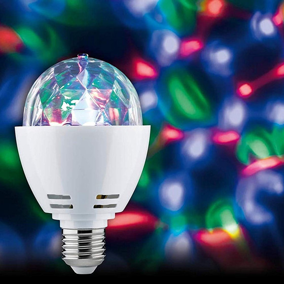 Paulmann 284.71 LED Motion Disco Leuchtmittel Lampe 1,5W E27 Multicolor